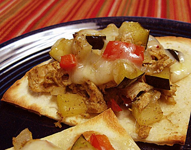 toasty zucchini tostadas