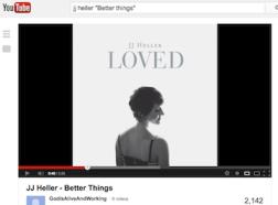 Link to JJ Heller on Youtube