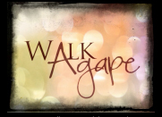 Walk Agape Icon